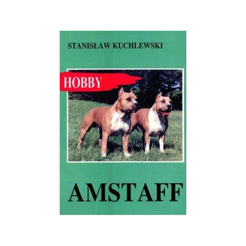 Amstaff Książka