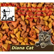 Cat Diana 0,8kg z wołowiną, drobiem, rybą