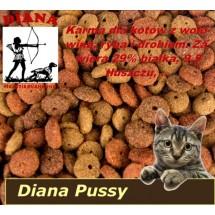 Pussy Cat Diana 15kg z wołowiną, drobiem, rybą
