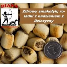 Wild Rollies Diana 10kg roladki z Dziczyzną