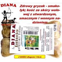 Kauknochen Schoko 14cm Diana 18x2szt Kość z czekol