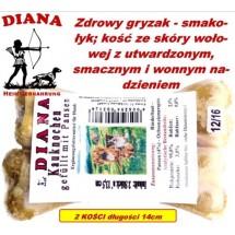 Kauknochen Pansen 14cm Diana 18x2szt Kość z żwacze